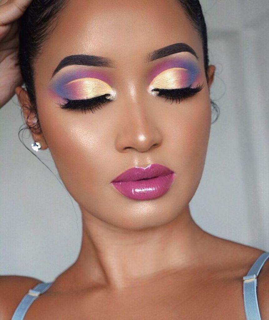 Bold And Bright Eyeshadow Look