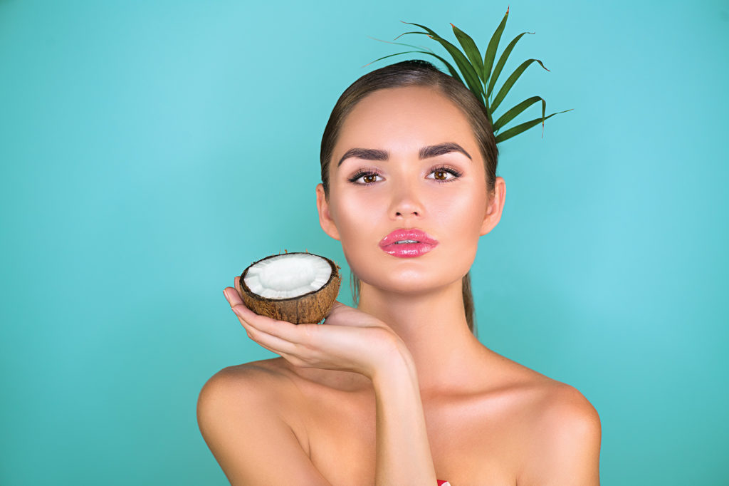 how to use coconut oil for skin lightening