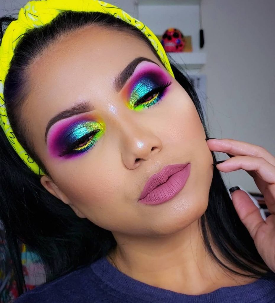 Colourful Carnival Look