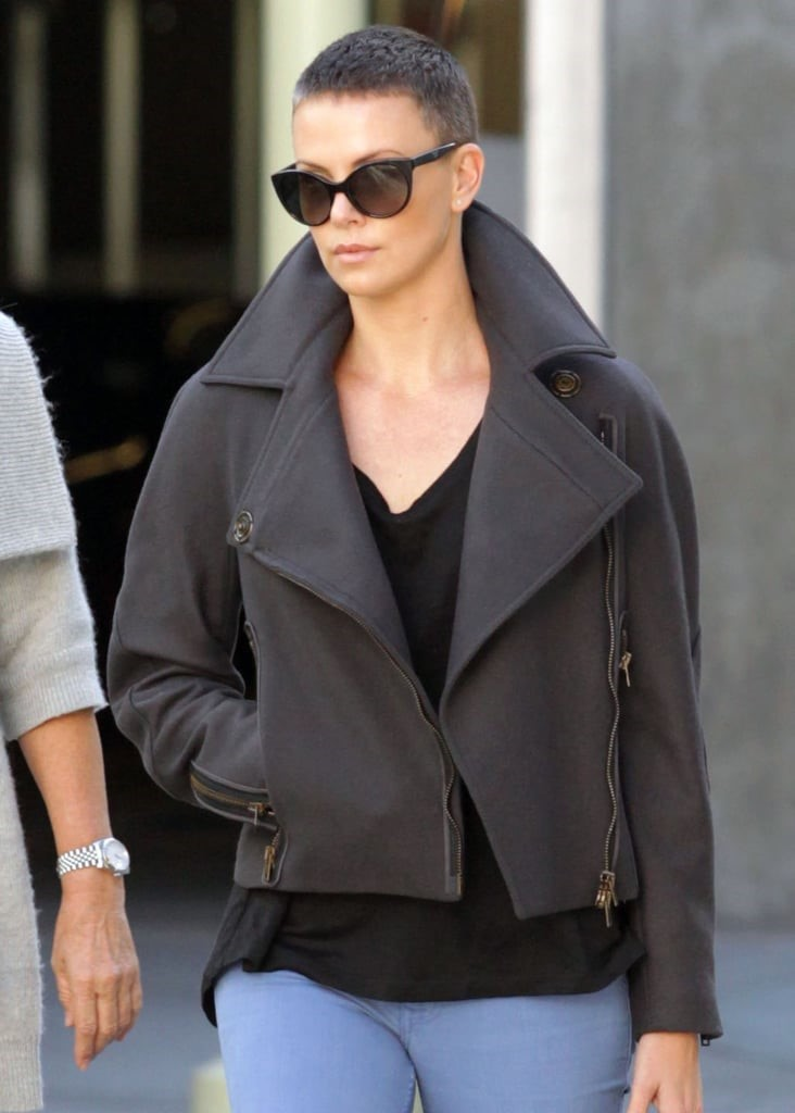 Charlize Theron Chic Buzzcut Is Quite Enviable