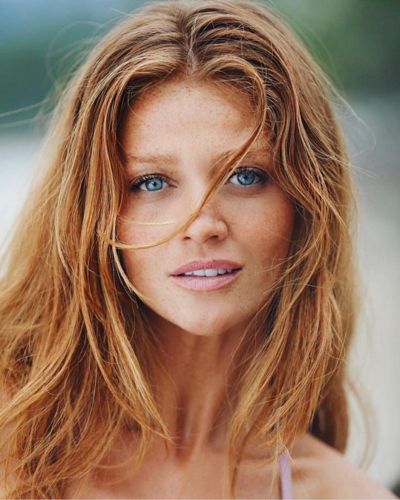 Cintia Decker Proves Freckles Are Great With Red Hair