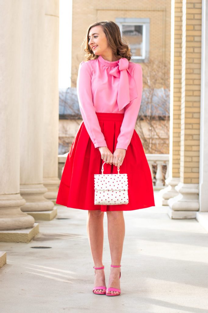 Red And Pink Valentines Day Outfit