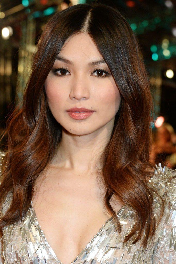 Gemma Chan Medium Summer Hair Cut
