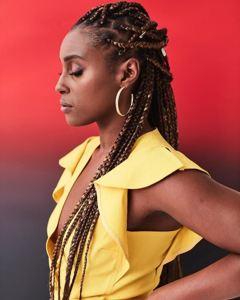 Issa Rae Makes Magic With Medium Braids