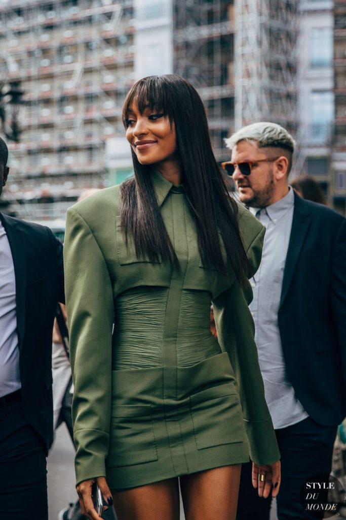 Jourdan Dunn Straight Cut Bangs Are Simply Gorgeous