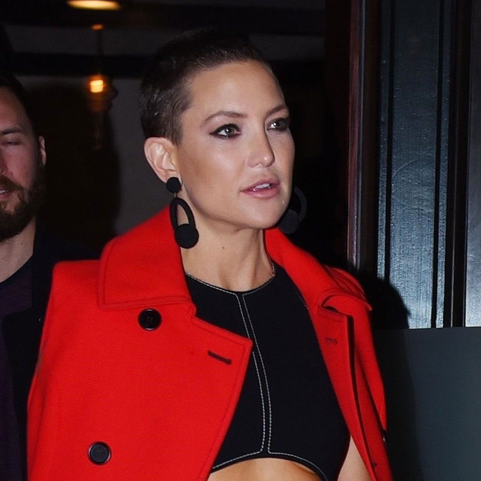 Kate Hudson Has The Perfect Date Night Buzzcut