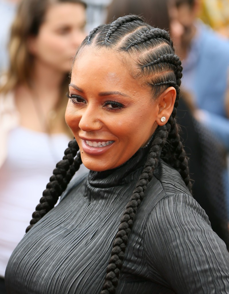 Melanie Brown All Back Braid