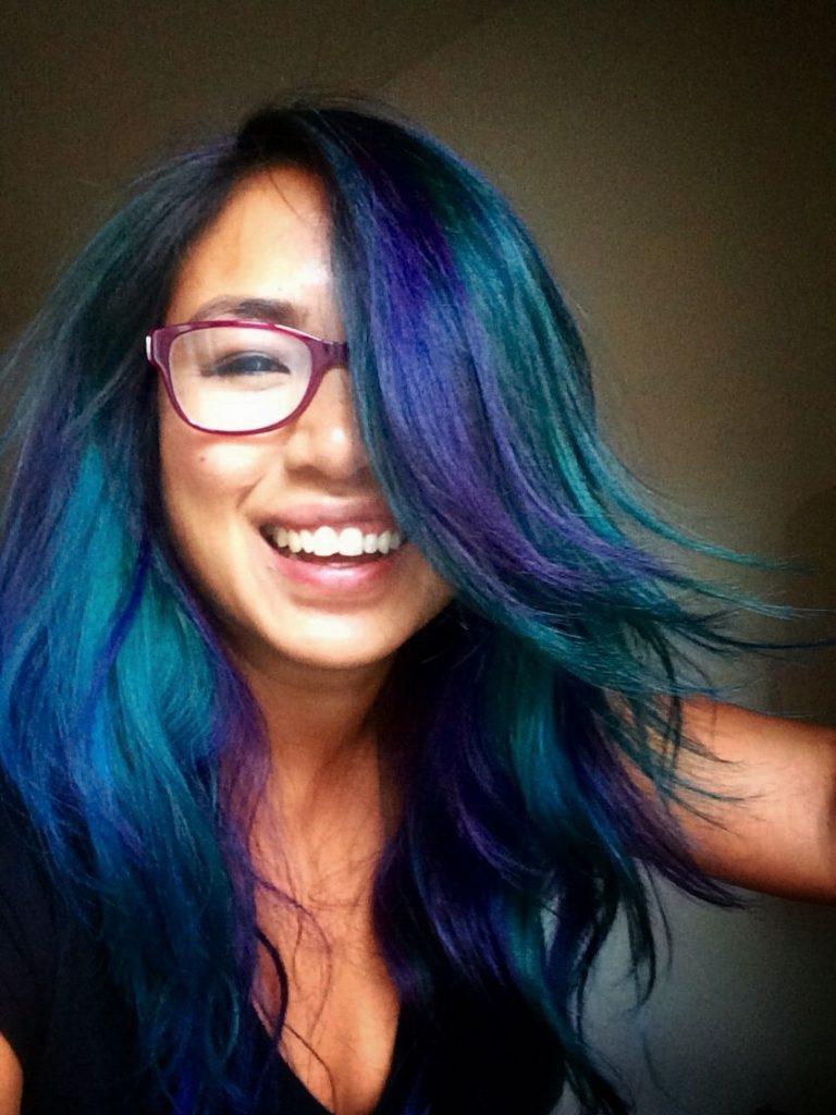 Cool Toned Oil Slick Hair
