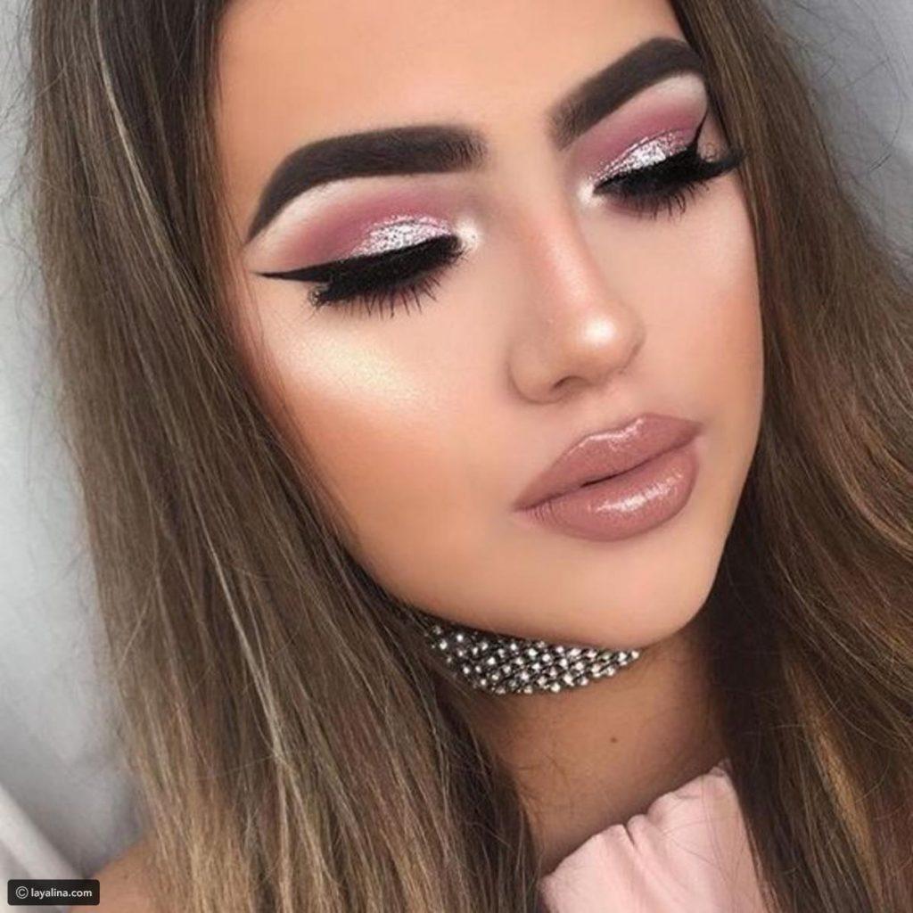 Pink Eyeshadow Glitter
