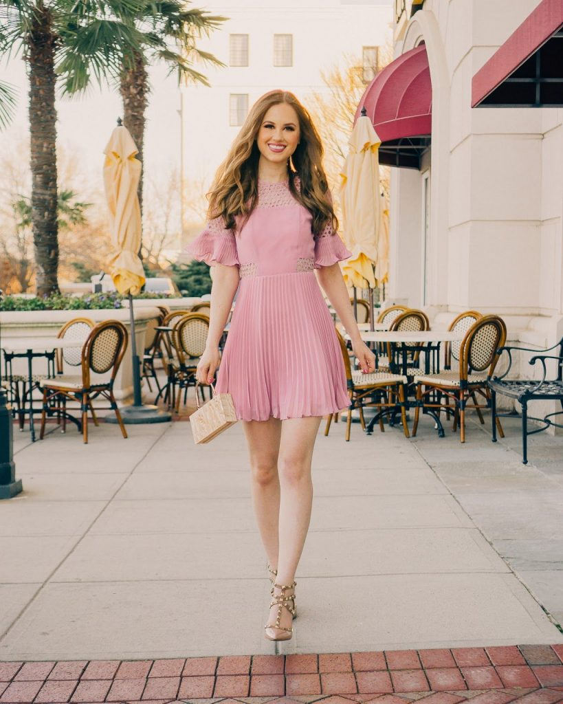 Cool Pink Valentines Day Dress