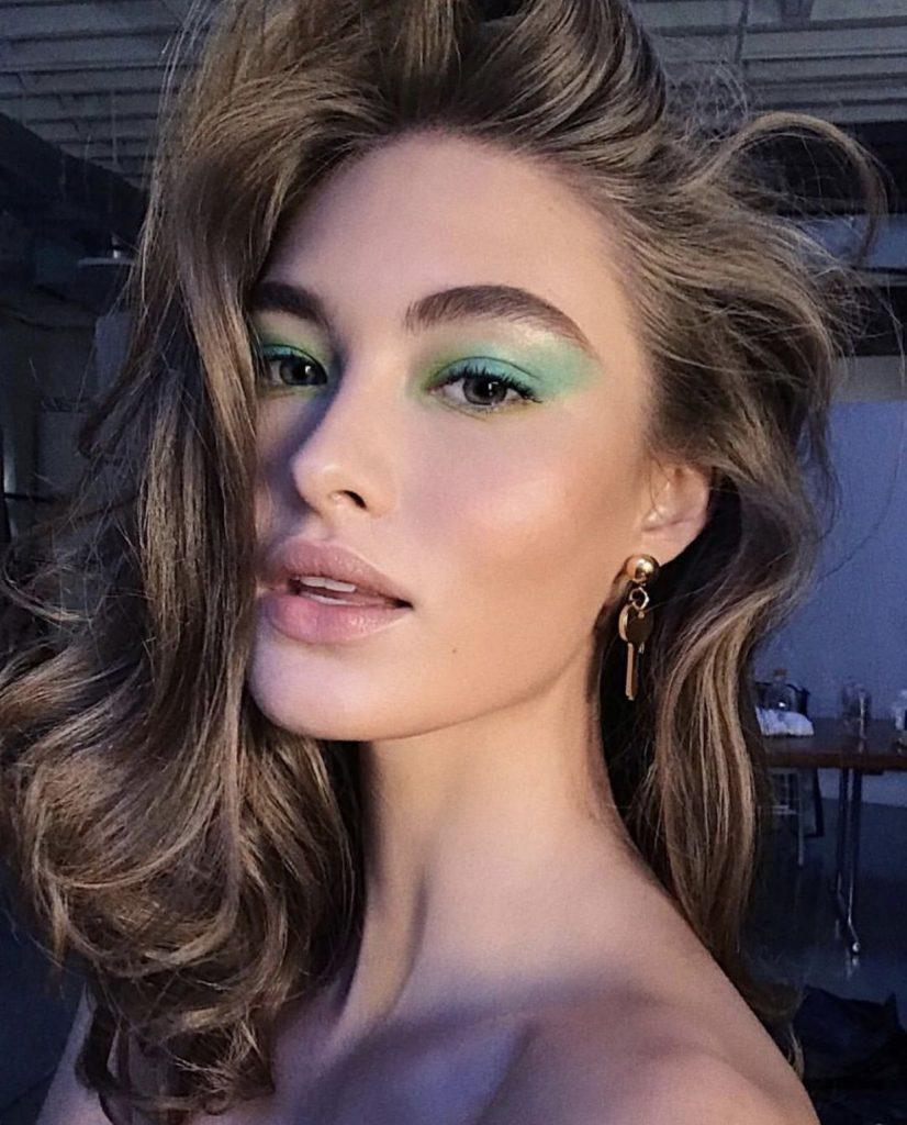 Teal Green Eyeshadow