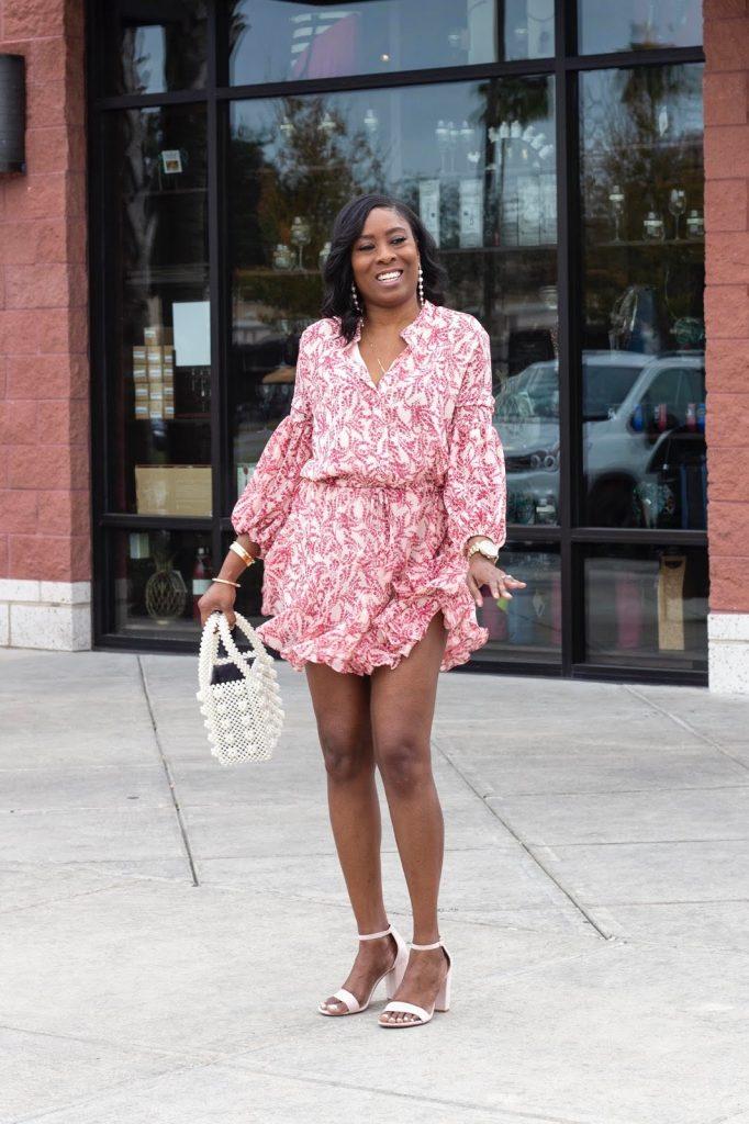 Mini Flirty Dress