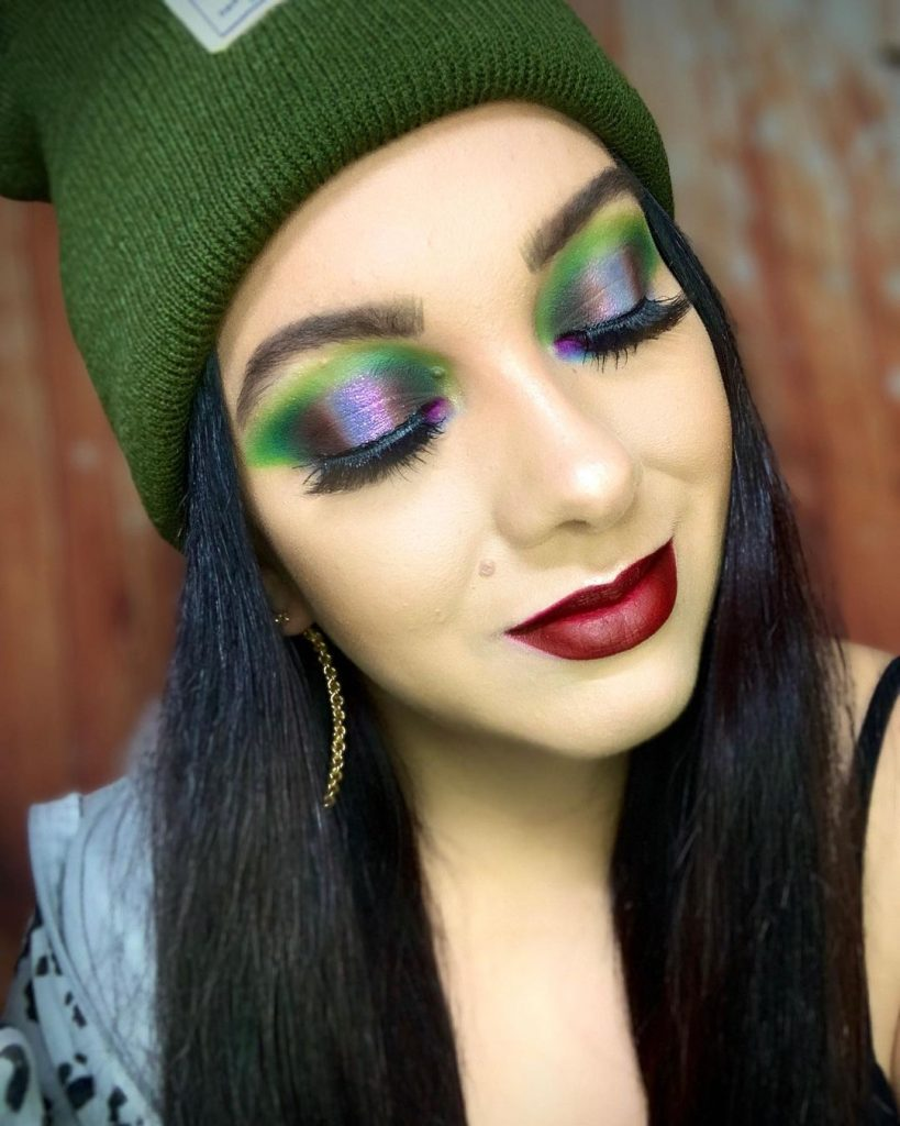 Colorful Indie Makeup