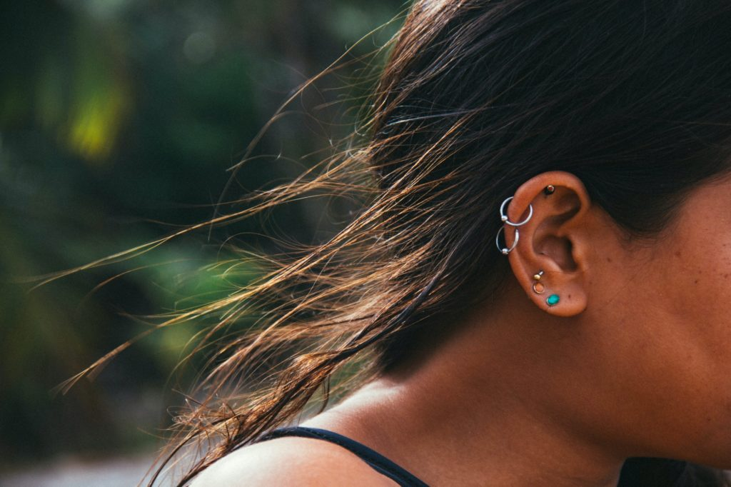types of conch piercing
