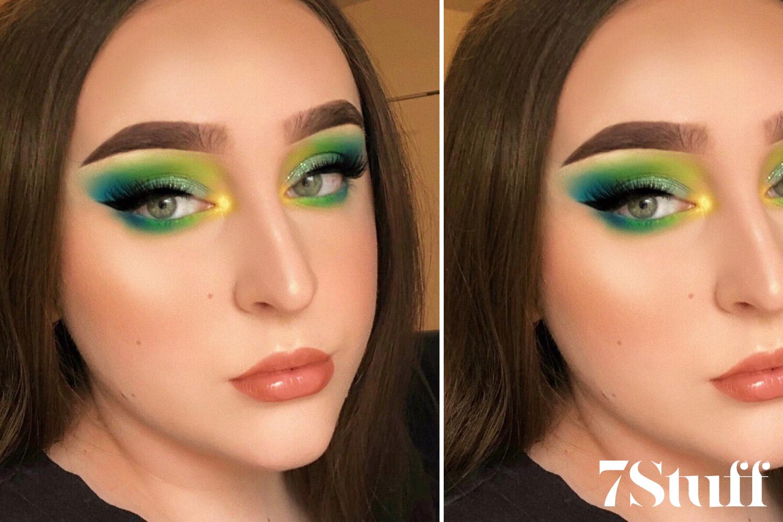 beautiful colorful eyeshadow looks