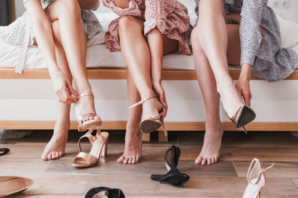 types of heels for women