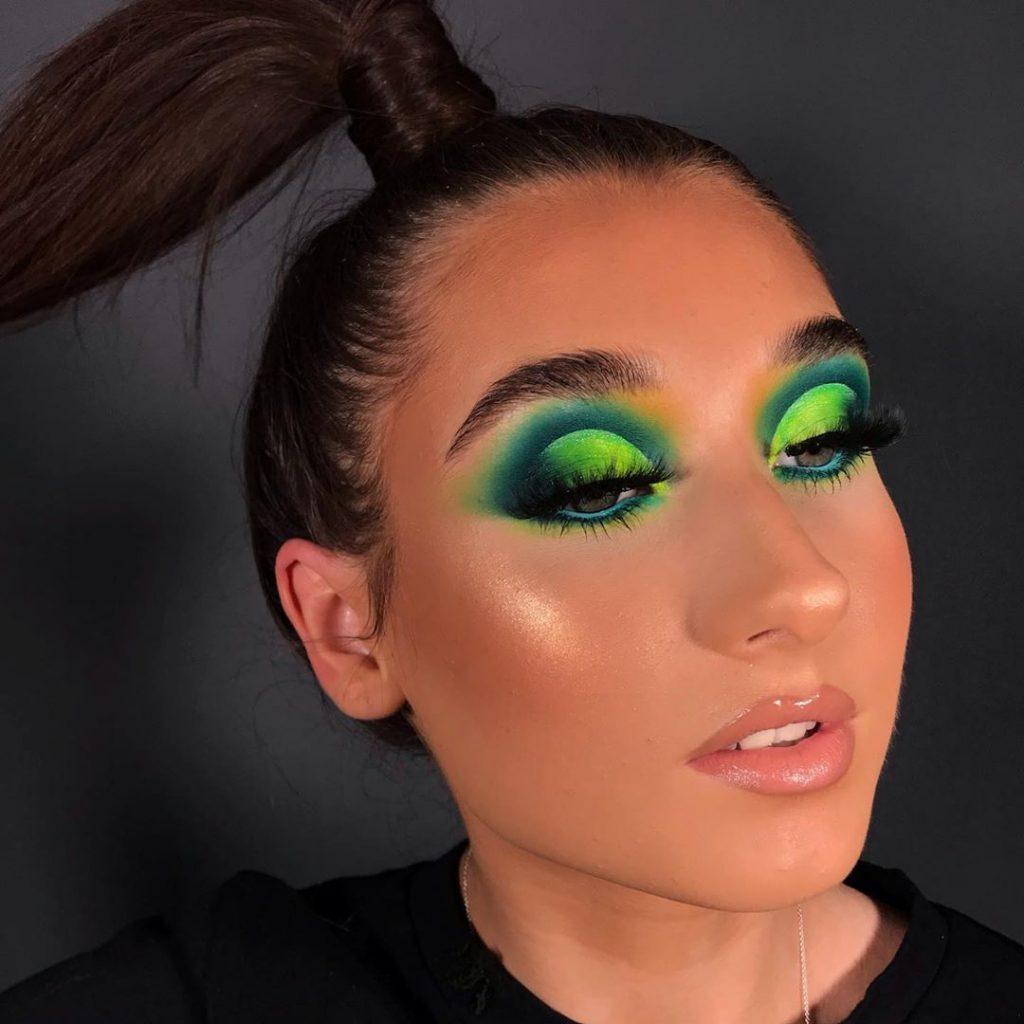 Leafy Green Eyeshadow