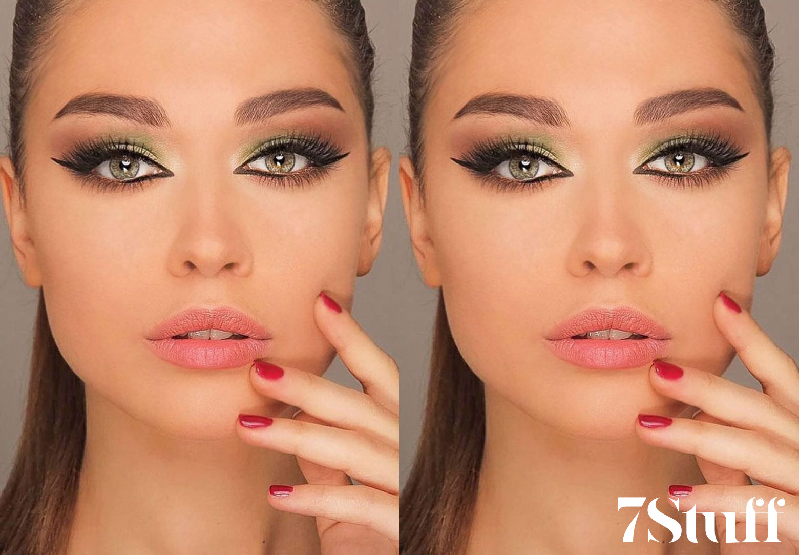 green eyeshadow looks