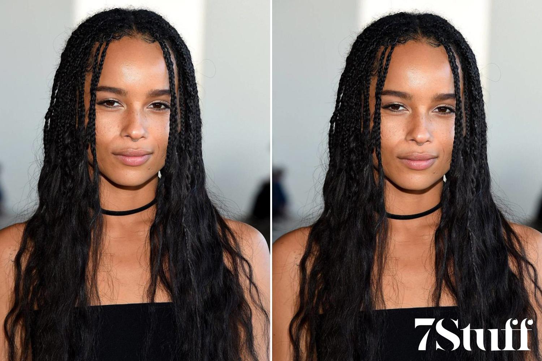 braids with loose hair