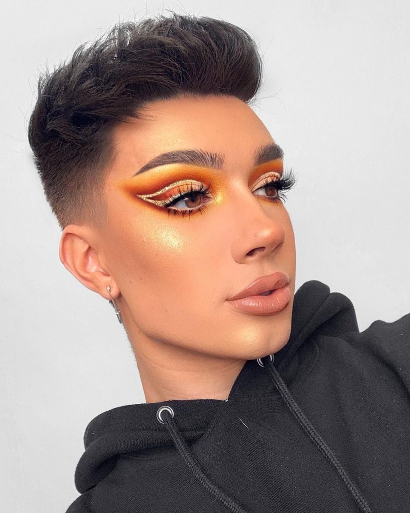 Orange And Gold Eyeshadow