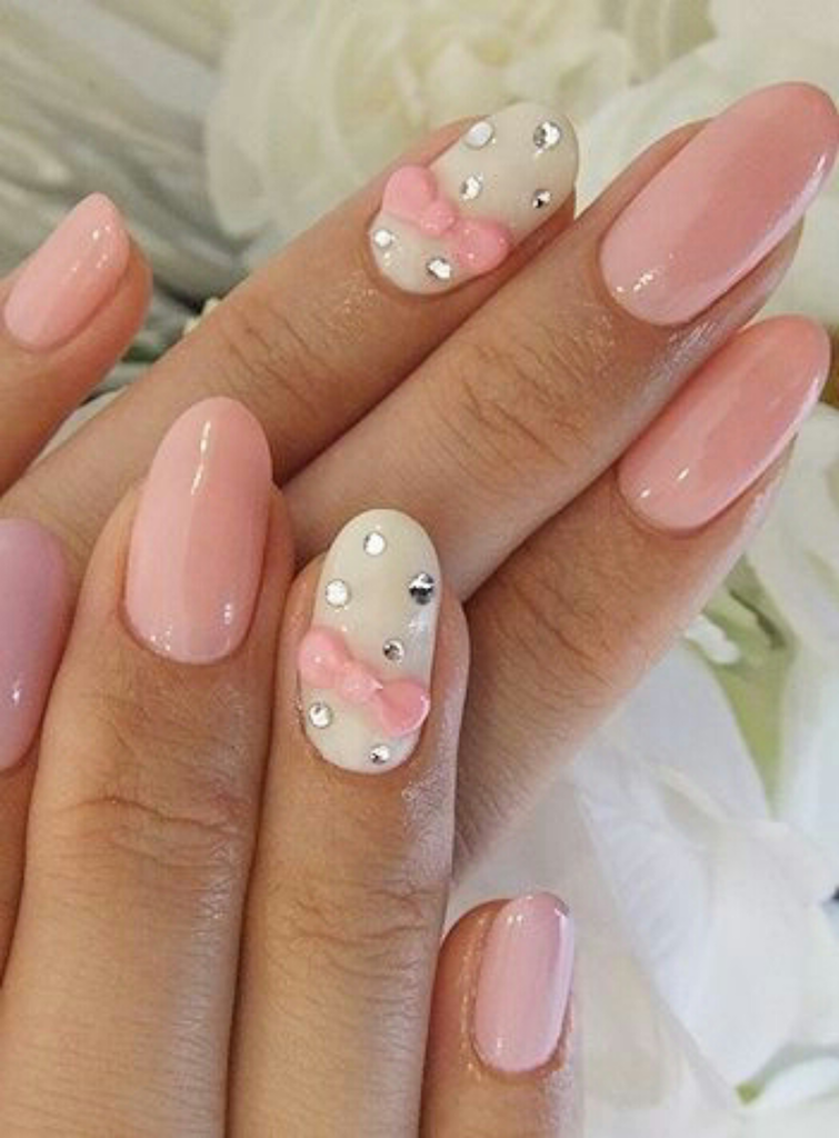 Pastel Pink And White Design