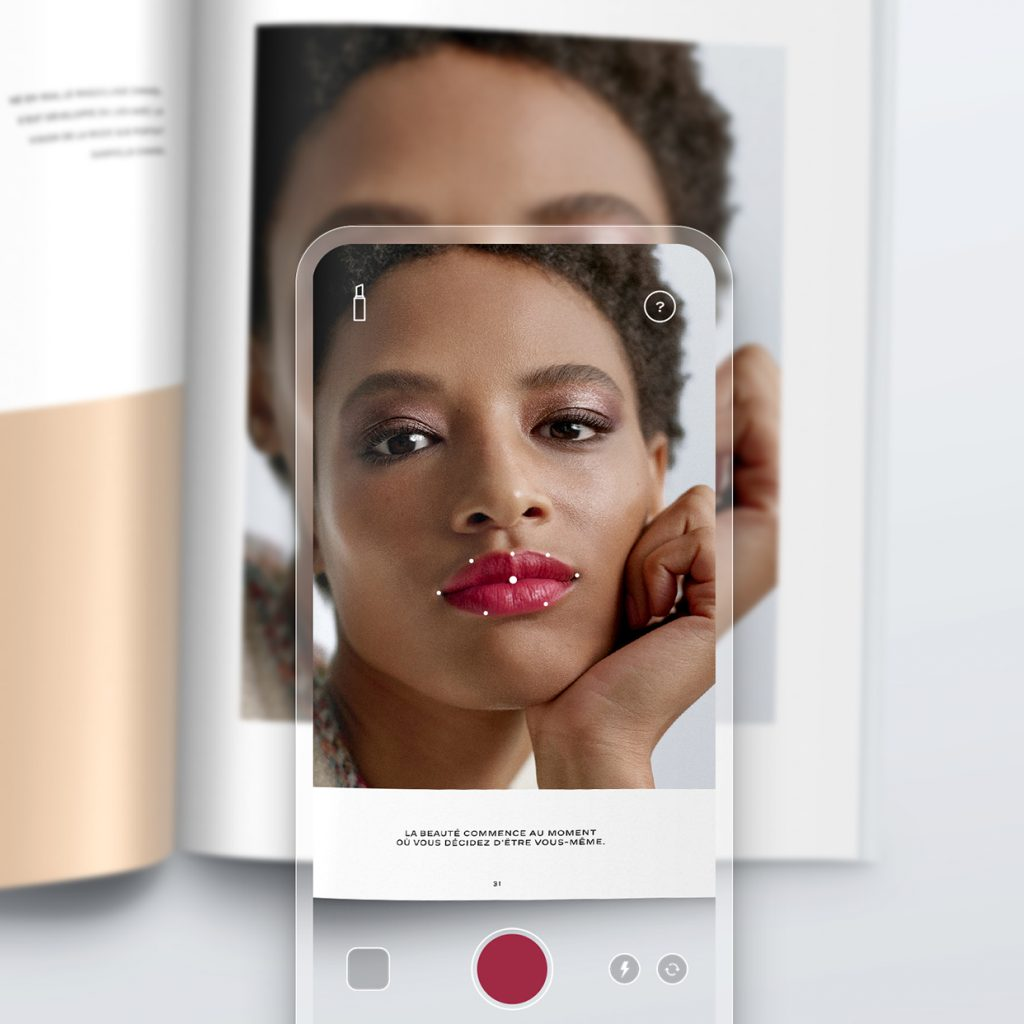 Chanel Introduces Their First Try On Lipscanner App