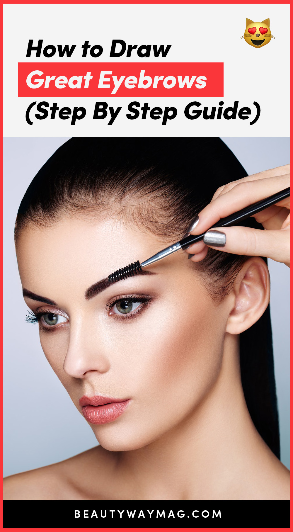 How to draw great eyebrows