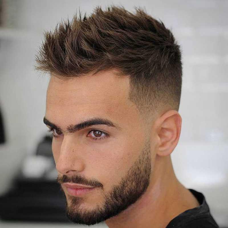 Faux Hawk Haircut for mature hairline