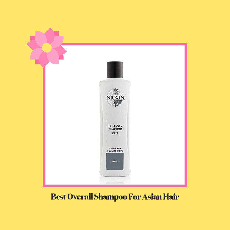 Best Overall Shampoo For Asian Hair