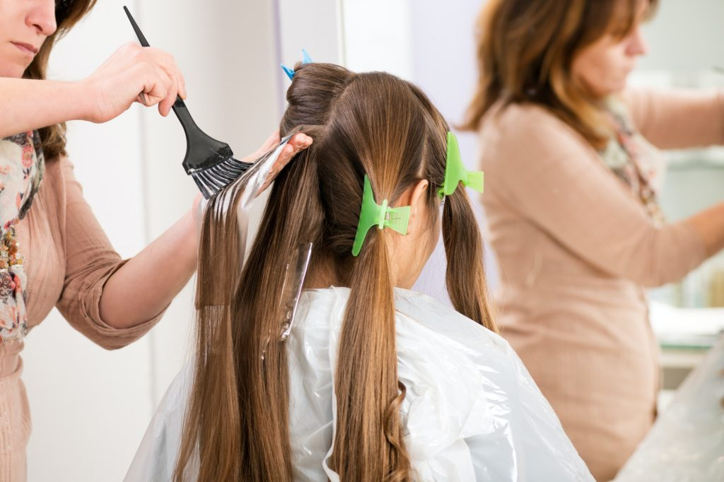 Where To Put Color Streaks In Your Hair