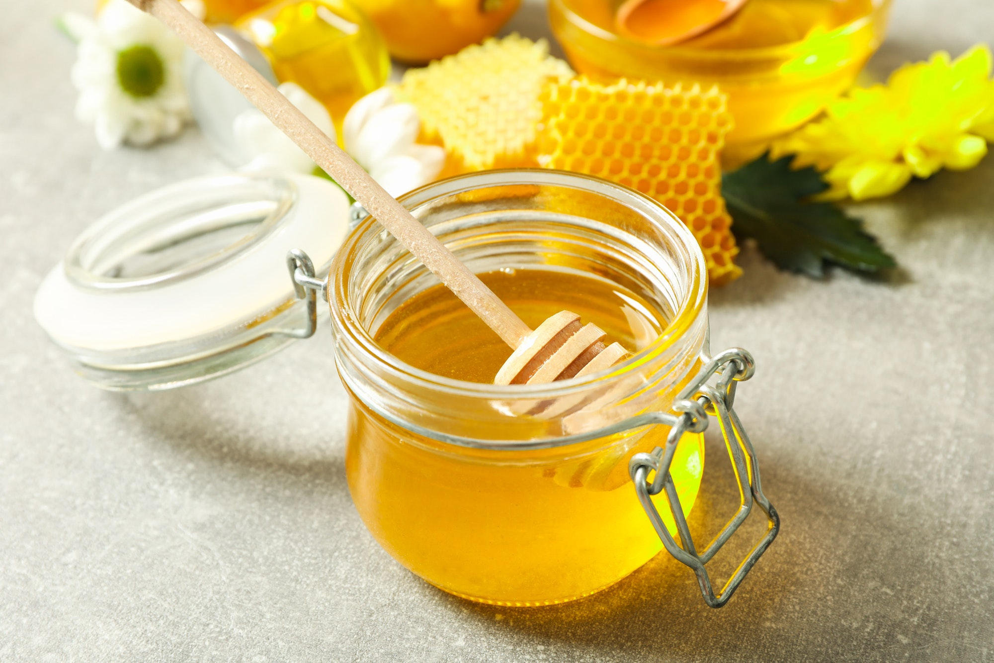 Honey beauty and skincare