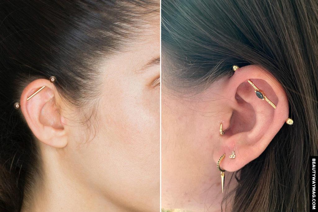 industrial piercing guide