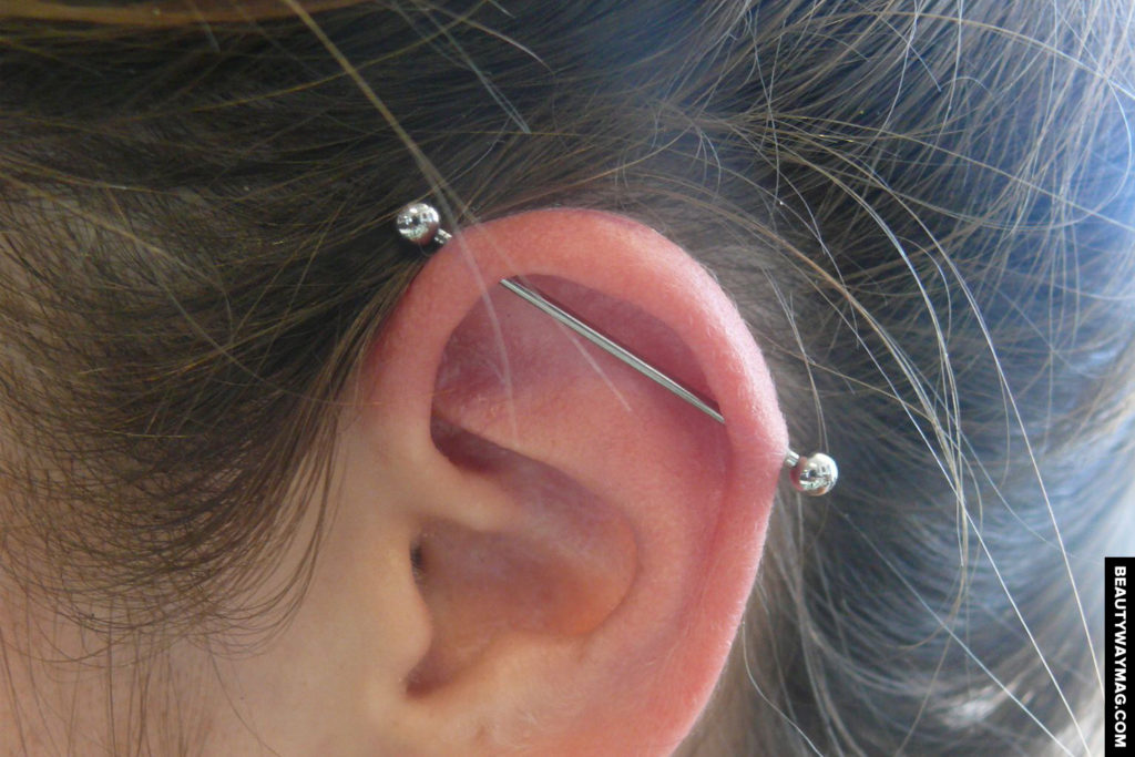 The Worst Jewelry Types For Industrial Piercings