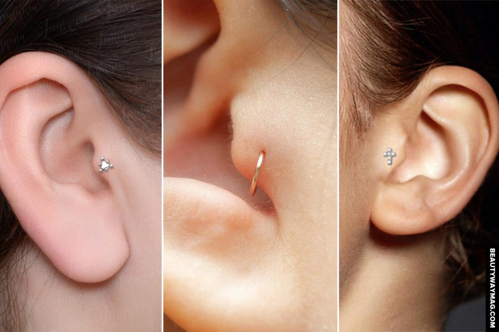 Tragus Piercing Guide